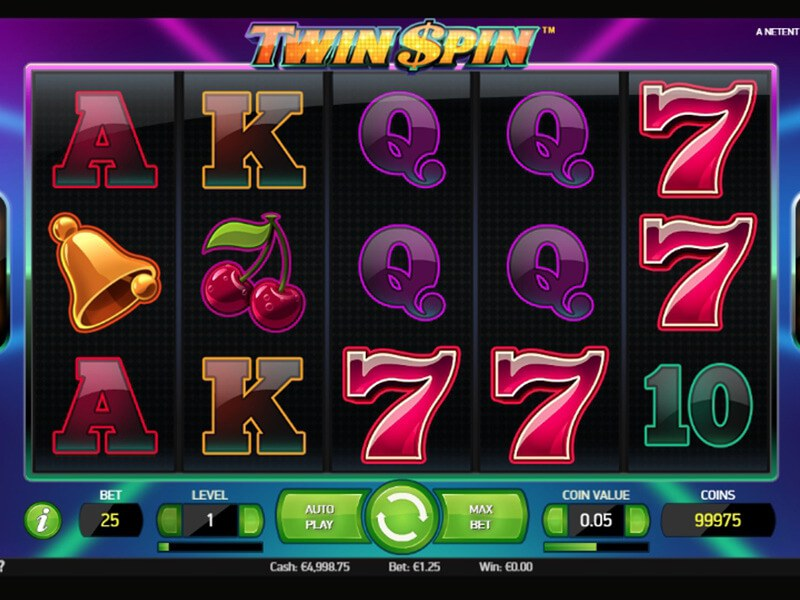 Twin Spin Slots screenshot 1
