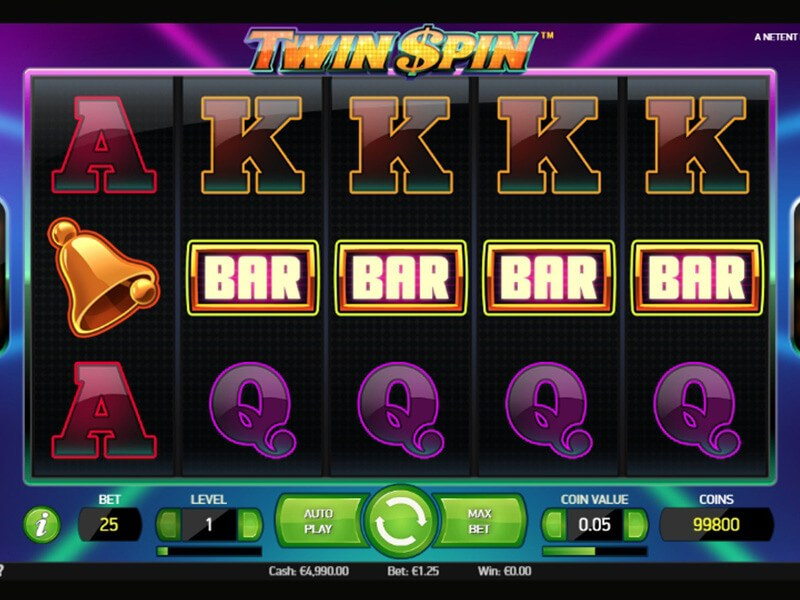 Twin Spin Slots screenshot 2