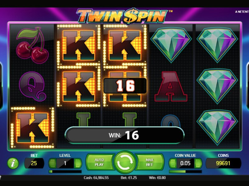 Twin Spin Slots screenshot 3